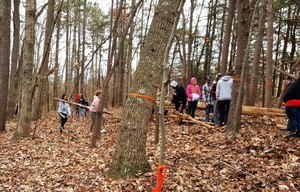 RCS Students Help with Environmental Education Trail