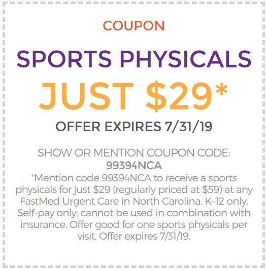 Coupon for Physical